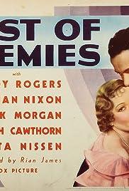 Best of Enemies Poster