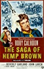 The Saga of Hemp Brown (1958) Poster