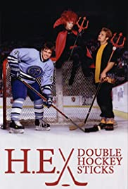 H-E Double Hockey Sticks Poster