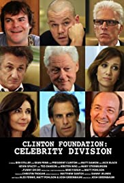 Clinton Foundation: Celebrity Division Poster