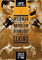 UFC on Fox 25: Weidman vs Gastelum poster
