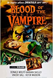 Blood of the Vampire(1958) Poster - Movie Forum, Cast, Reviews