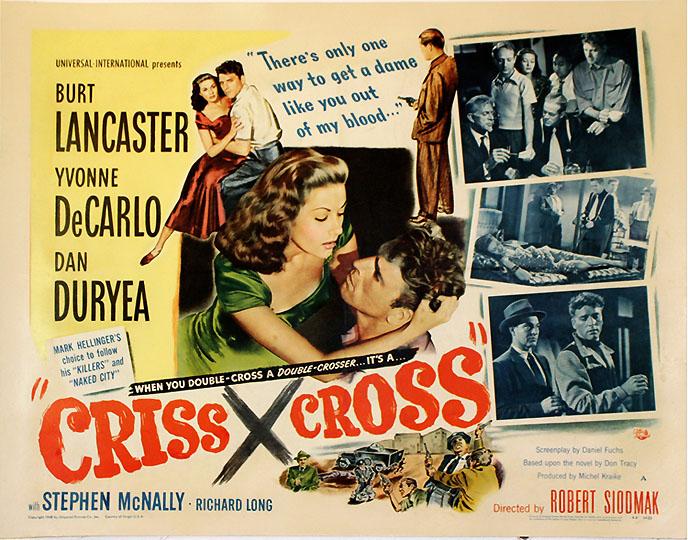 Αποτέλεσμα εικόνας για Criss Cross (1949)