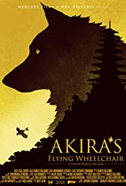 Akira's Flying Wheelchair Poster