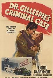 Dr. Gillespie's Criminal Case Poster