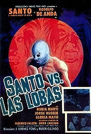 Santo vs. las lobas Poster