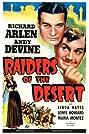 Raiders of the Desert (1941) Poster