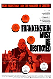 Frankenstein Must Be Destroyed Poster