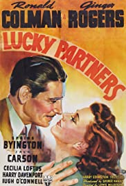 Lucky Partners (1940) Poster - Movie Forum, Cast, Reviews