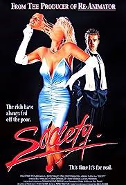 Society(1989) Poster - Movie Forum, Cast, Reviews