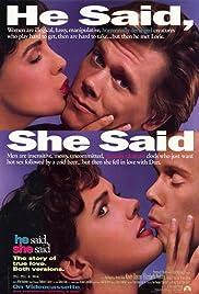 He Said, She Said(1991) Poster - Movie Forum, Cast, Reviews