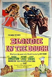 Blondie in the Dough Poster