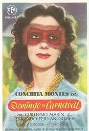 Domingo de carnaval Poster