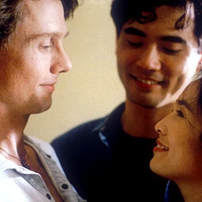 Winston Chao, May Chin, and Mitchell Lichtenstein in The Wedding Banquet (1993)