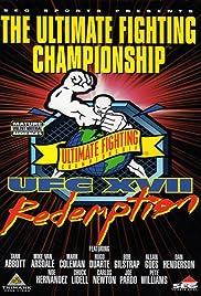 UFC 17: Redemption Poster