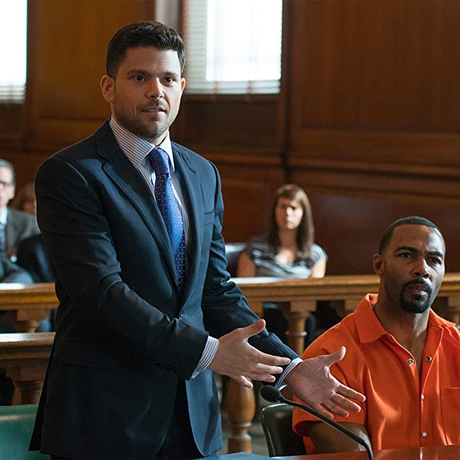 Omari Hardwick and Jerry Ferrara in Power (2014)