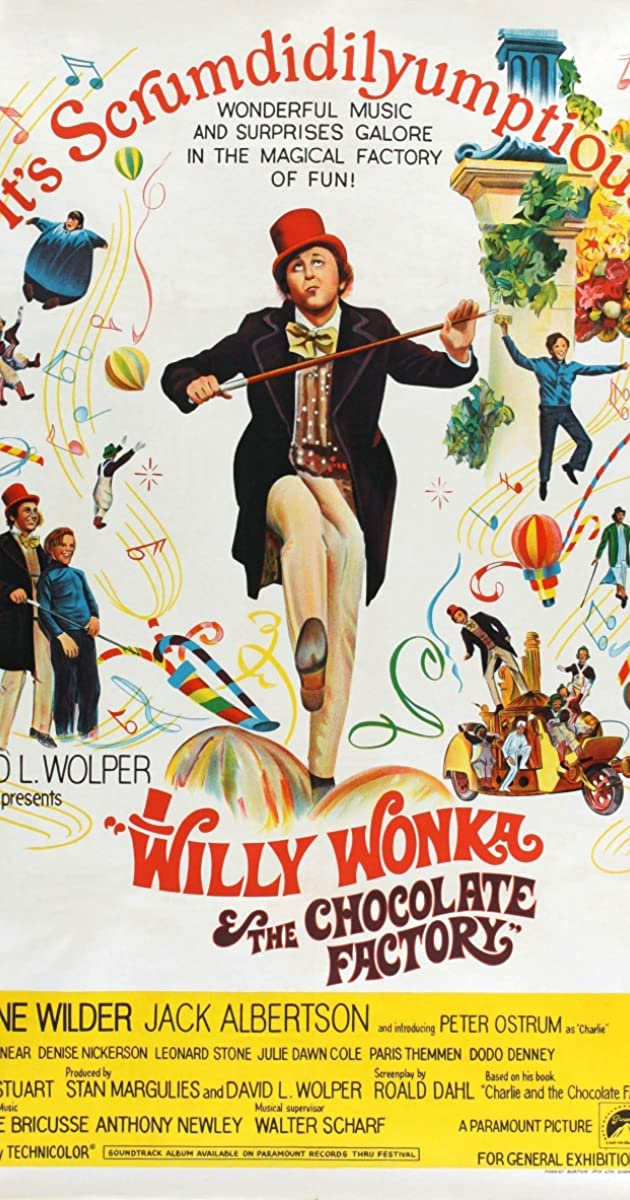 Willy Wonka & the Chocolate Factory (1971) - IMDb