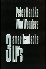 3 amerikanische LP's Poster