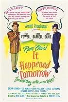 It Happened Tomorrow (1944) Poster