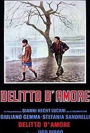 Delitto d'amore Poster