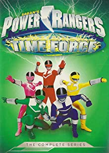 Poster Power Rangers Time Force