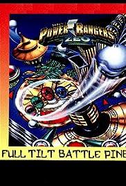 Power Rangers Pinball Poster