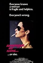 Remember My Name (1978) Poster - Movie Forum, Cast, Reviews