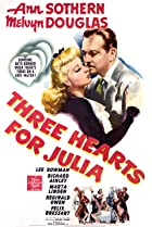 Image of Three Hearts for Julia
