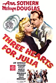 Three Hearts for Julia (1943) Poster - Movie Forum, Cast, Reviews