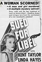 Sued for Libel