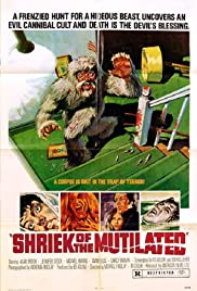 Shriek of the Mutilated Poster
