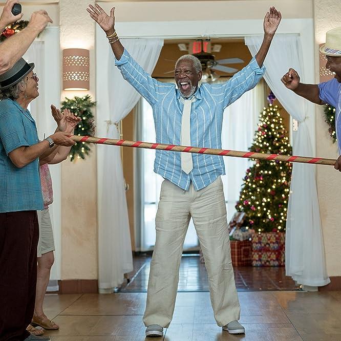 Morgan Freeman, Joe Pantoliano, Graham Beckel, George Wallace, and Nick Peine in Just Getting Started (2017)