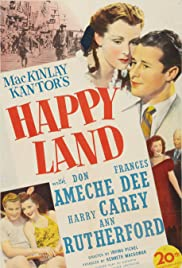 Happy Land (1943) Poster - Movie Forum, Cast, Reviews