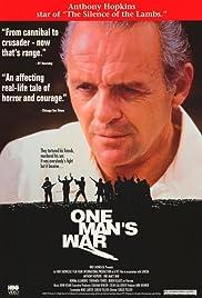 One Man's War Poster