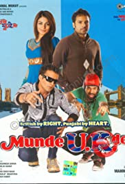 Munde U.K. De: British by Right Punjabi by Heart Poster