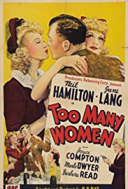 Too Many Women Poster