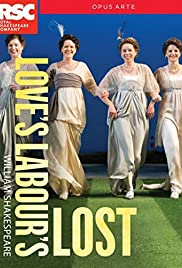 Royal Shakespeare Company: Love's Labour's Lost Poster