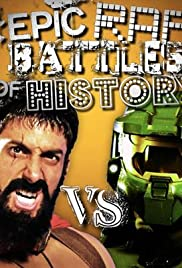 Master Chief vs. Leonidas Poster