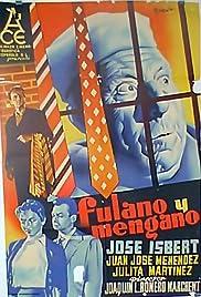 Fulano y Mengano Poster