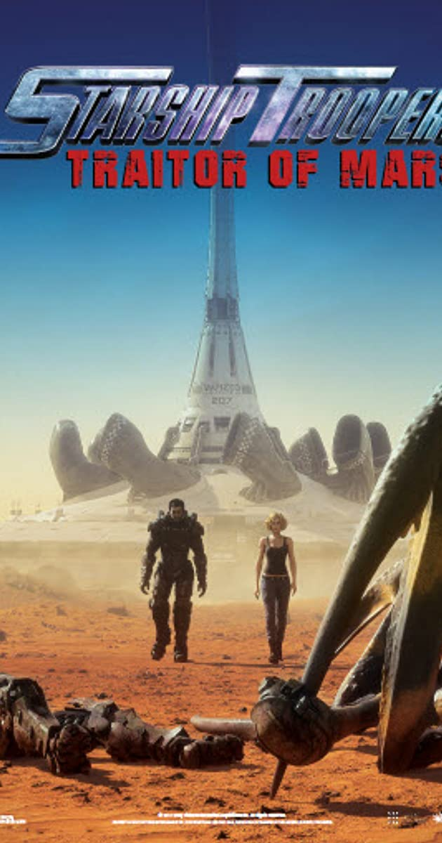 Starship Troopers: Traitor of Mars (2017) WEB-DL