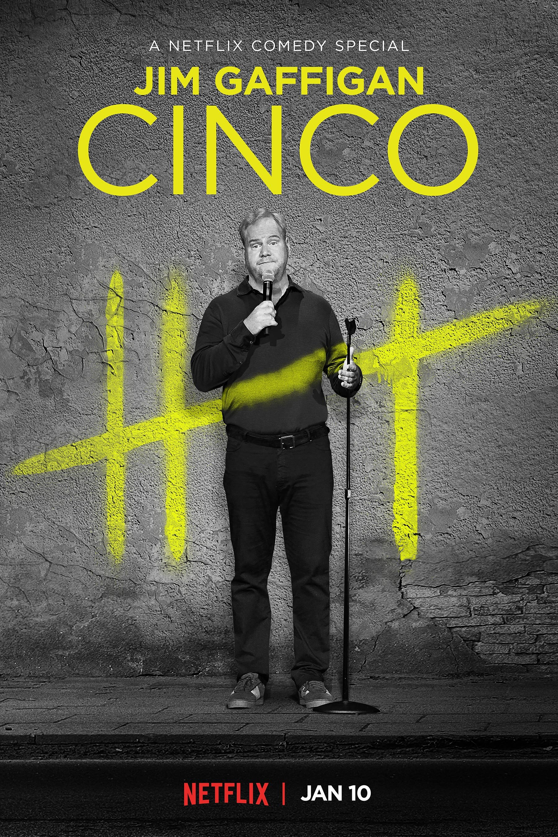 image Jim Gaffigan: Cinco (2017) (TV) Watch Full Movie Free Online