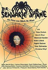 Die schwarze Spinne Poster