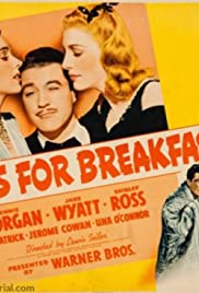 Kisses for Breakfast (1941) Poster - Movie Forum, Cast, Reviews