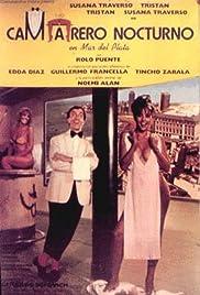 Camarero nocturno en Mar del Plata Poster