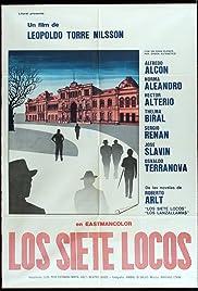 Los siete locos Poster
