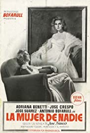 La mujer de nadie Poster