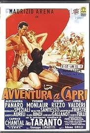 Avventura a Capri Poster