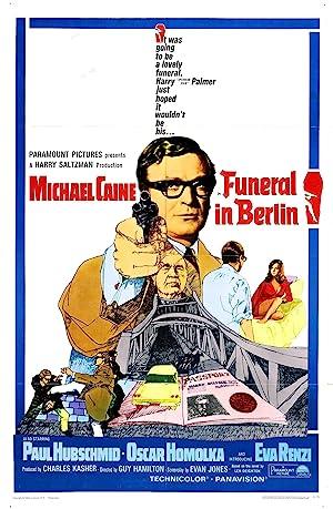 Funeral in Berlin poster