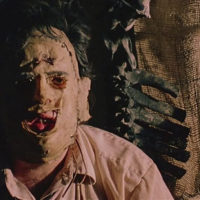 Gunnar Hansen in The Texas Chain Saw Massacre (1974)