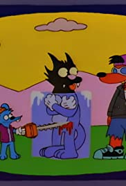 The Itchy & Scratchy & Poochie Show Poster